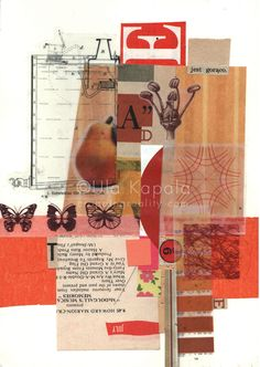 Materials: nespaper and magazine clippings, stickers, craft paper, colour guide, Brockhaus encyclopedia edition) images. Summer In The City Art Sites, Mixed Media Art, Holiday Gifts, Art Photography, Paper Crafts, Deviant Art, City, Summer, Blog