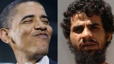 Barack Obama and Gitmo detainee