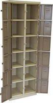 12 Compartment Locker Shelving, Lockers, Home Decor, Shelves, Decoration Home, Room Decor, Shelving Units, Locker, Home Interior Design