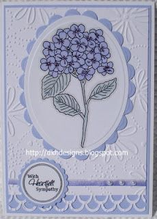Sympathy card Sympathy Card Sayings, Card Making Designs, Embossed Cards, Unique Cards, Card Maker, Paper Cards, Flower Cards, Homemade Cards, Stampin Up Cards