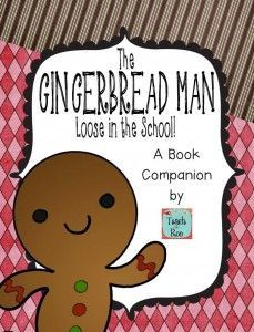 Awesome unit for teaching the book The Gingerbread Man- Loose in the School... GREAT for the beginning of the year!