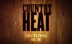 How many calories do you burn in Country Swing, the first workout dvd in Country Heat?