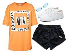 """""""Untitled #1837"""" by dissolving-film ❤ liked on Polyvore featuring Helmut Lang, adidas, Vans and Chanel"""