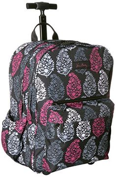 Vera Bradley Womens Lighten up Rolling Backpack Northern Lights *** Learn more by visiting the image link. (This is an affiliate link) #CampingBackpacks