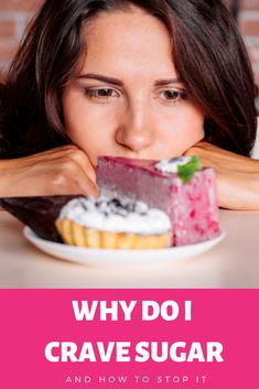 Why you could be craving sugar, and how to potentially fix the issue with simple tips. Stop Sugar Cravings, How To Stop Cravings, Craving Sweets, Breakfast, Simple, Tips, Food, Morning Coffee, Essen