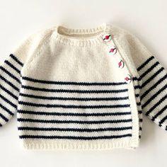 Baby Cardigan, Striped Cardigan, Cardigan Bebe, Baby Vest, Wool Cardigan, Baby Boy, Baby Knitting Patterns, Pattern Baby, Baby Sweater Knitting Pattern