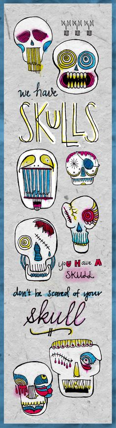 Skulls!!!! http://www.duckbrigade.com/blog/