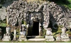 """The Elephant Cave Temple in Bali."" (From: 30 Extraordinary Photos of Caves Around the World)"