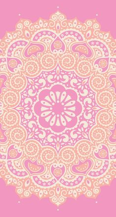Yellow or Pink Tumblr Backgrounds, Wallpaper Backgrounds, Pink Wallpaper, Pattern Wallpaper, Mandala Art, Cellphone Wallpaper, Iphone Wallpaper, Plan Image, Web Design