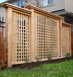 DIY Step by Step Pergola Plans, instructions to build fences, garden arbours and trellises. Trust GardenStructure.com for Pergola Plans and designs.