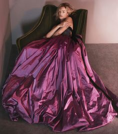 Carolyn Murphy by David Sims for Oscar de la Renta Fall/Winter 2015/16 Campaign