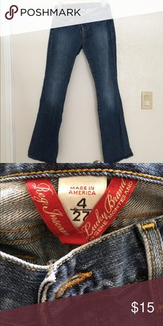 Lucky Brand jeans Lucky brand jeans size 4 (size 27) Lucky Brand Jeans