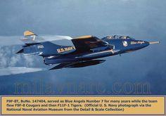 Beautiful shot of the Grumman F9F-8T Cougar.