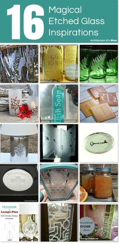 Architecture of a Mom: Glass Etching Inspiration