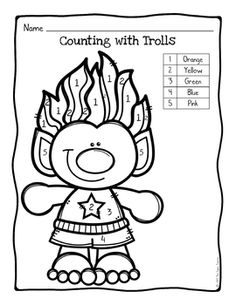 Coloring pages occupational therapy ~ Color by Number – Easter Worksheets – Easter Eggs – One ...