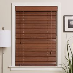 Arlo Blinds Customized Real Wood Window Blinds (Oak Beige, Size 75 x 76 (Polyester) Living Room Blinds, Bedroom Blinds, Window Treatments Living Room, Diy Blinds, House Blinds, Fabric Blinds, Shades Blinds, Curtains With Blinds, Blinds For Windows