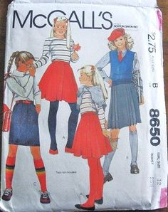 Junior Miss Skirt in Three Styles Circle Pleated by LetYourselfSew, $1.00