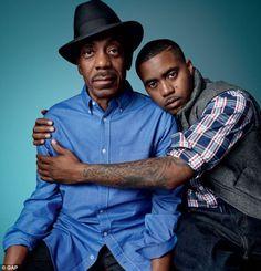 Nas and his dad Olu Dara