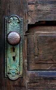 Old door knob..