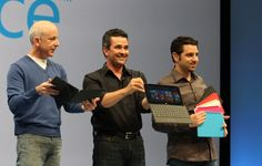 Microsoft announcement. Whole new family of computers!   http://www.facebook.com/brilliantsocialmedia