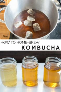 This is the easiest way to make Kombucha at home! And so much better than any store bought I've had.