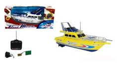 Amazon.com: Radio Control Fire Fighting Boat 18 Inch RC Boat - Yellow: Toys & Games