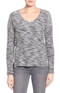 PAIGE 'Martine' Slub Cotton Sweater available at #Nordstrom