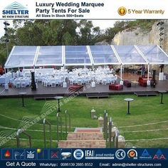 Home - Shelter Clear Wedding Tents Supplier - Event Marquees Solutions Marquee Wedding, Tent Wedding, Luxury Wedding, Wedding Reception, Party Tents For Sale, Tent Sale, Home Shelter, Marriage Reception, Wedding Reception Ideas