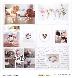 Creative Team Inspiration: Pocket Guide No 7 by Lucie Sindelkova Project Life 6x8, Project Life Layouts, Project Life Planner, Digital Project Life, Photo Projects, Crafty Projects, Scrapbook Paper Crafts, Scrapbook Pages, Pocket Scrapbooking