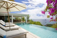 As you enter the villa in Lurin, St Barts, an amazing, lush, tropical garden surrounds you. The wonderful pool area offers incomparable view...