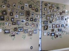 I love my family tree but I thought this was another creative way to use more pics so you can add more family members !