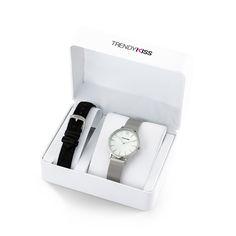 TrendyKiss coffret CTK-06 (montre femme modèle LOVISA TM10090-01 + bracelet cuir)