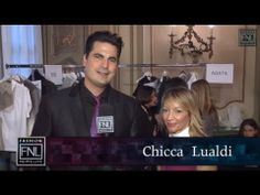 Fashion News Live talks with Chicca Lualdi at Milan Fashion Week. Her #FW14 collections is wintery ballet with a touch of bright color. Check out the runway here.
