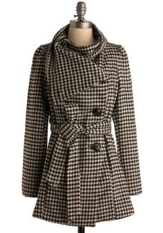 I haven't done houndstooth yet this season... Perhaps in a pea coat?