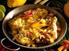 Kyckling med mango och thaichili