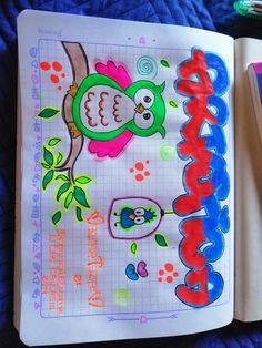 Caratulas para niños Page Borders Design, Border Design, Aquarium Craft, Bullet Journal Spread, Nature Wallpaper, Art Decor, Notebook, Classroom, Kitty