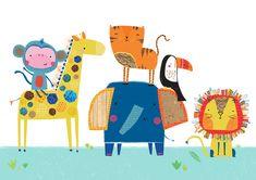 Portfolio | Genine delahaye |Children's Illustration