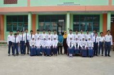 Sesi Foto Bersama Siswa Kelas 9 MTs Al-Kautsar