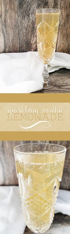 Unwind with this simple and delicious sparkling vodka lemonade-- a perfect mixed drink for warm spring and summer weather! Sparkling Lemonade, Vodka Lemonade, Lemonade Cocktail, Vodka Cocktails, Non Alcoholic Drinks, Cocktail Drinks, Refreshing Drinks, Summer Drinks, Fun Drinks