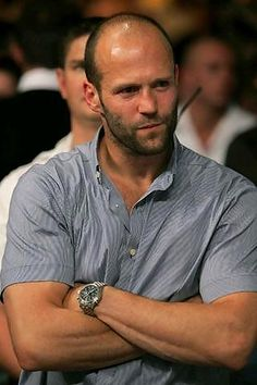 Jason Statham. because a guy who could kill you is hot. (note: not a guy who WOULD. just not one of those skinny hipsters.)