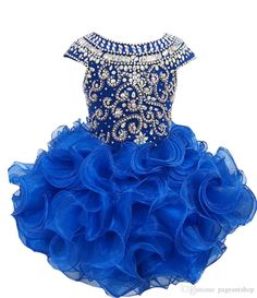Shop for Little Princess/Baby Girl/Child/Infant/Toddler's Glitz Pageant Dress. Toddler Pageant Dresses, Glitz Pageant Dresses, Pagent Dresses, Girls Party Dress, Prom Party Dresses, Birthday Dresses, Birthday Tutu, Dress Party, Bridal Dresses