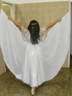 Um lar para chamar de meu: Vestido de coreografia envagelica - Inspirações