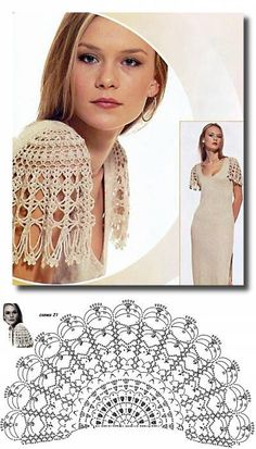 New crochet patterns clothes charts Ideas Crochet Diagram, Crochet Chart, Crochet Motif, Irish Crochet, Crochet Designs, Crochet Lace, Crochet Stitches, Crochet Patterns, Skirt Patterns