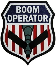 Boom Operator Seal Plaque. Starts at $97.95