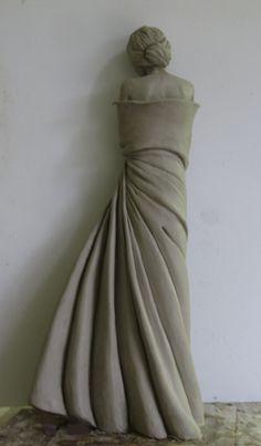 L'Hiver en Soi sculpture by French artist, Marie-Paule Deville Chabrolle.