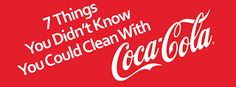 Coke, coca cola, refreshing home, cleaner, battery, stains,