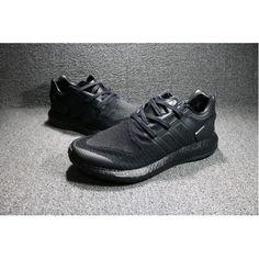 buy popular a2b23 e9e82 adidas Pure Boost Triple Sort Maend Sko Til Salg