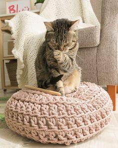 Sublime Crochet for Absolute Beginners Ideas. Capital Crochet for Absolute Beginners Ideas. Crochet Home, Love Crochet, Beautiful Crochet, Knit Crochet, Diy Puffs, Crochet Decoration, Fabric Yarn, T Shirt Yarn, Easy Crochet Patterns