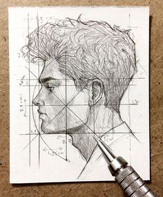 Hello there ! Here u have some few steps of a profile , let me know what process u'd like to see next time . ☺️✍️ #sketching #mechanicalpencil #graphgear500 #pentel