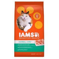 Iams ProActive Health Hairball Care Dry Cat Food - 7lbs